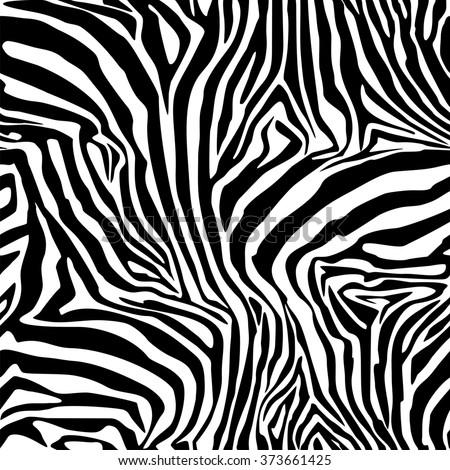 Zebra Stripes. Background. Pattern. A seamless pattern.  Mosaic. Illustration. - stock photo