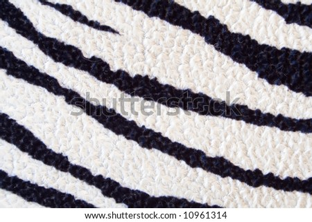 zebra texture - can be used as background - stock photo