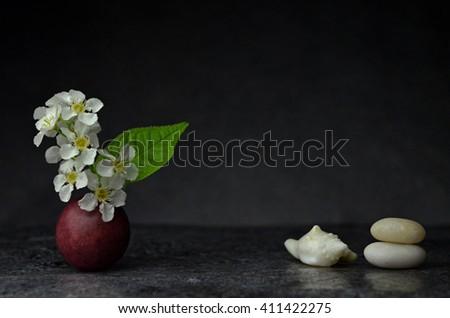 Zen composition - stock photo