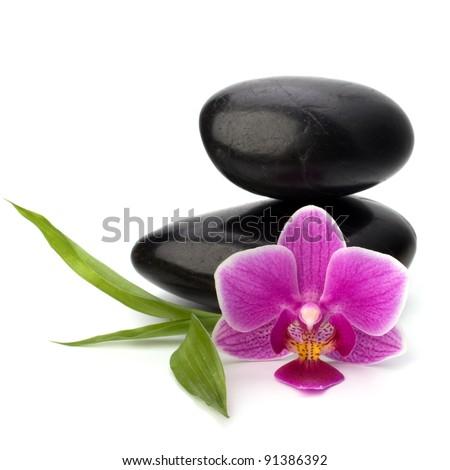 Zen pebbles balance. Spa and healthcare concept. - stock photo