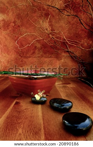 Zen Still Life - stock photo