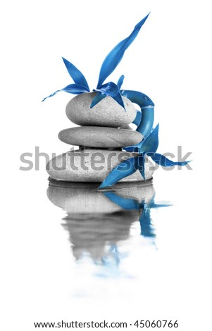 Zen stones - stock photo