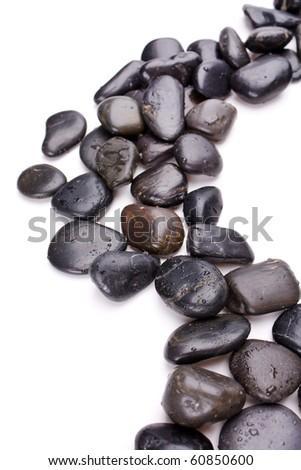zen stones - stock photo