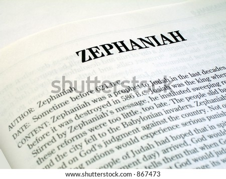 Bible Study: Zephaniah 1 - YouTube