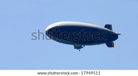 Zeppelin - stock photo