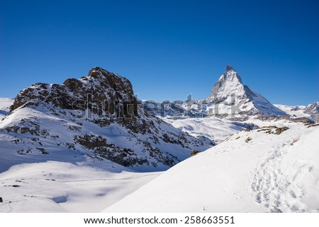 zermatt, switzerland, matterhorn, ski resort