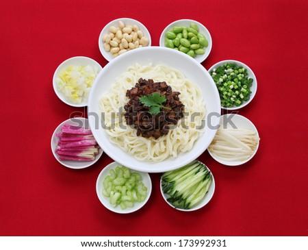 zhajiang mian beijing style ...