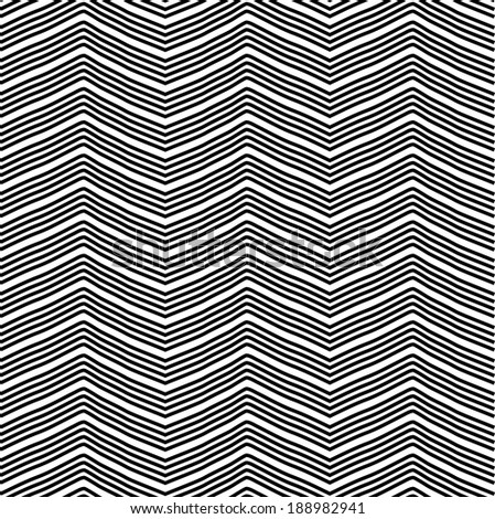 Zig Zag Pattern - stock photo