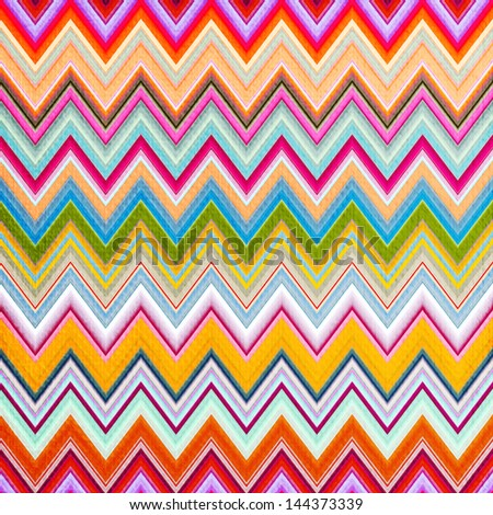 Zigzag seamless pattern - stock photo