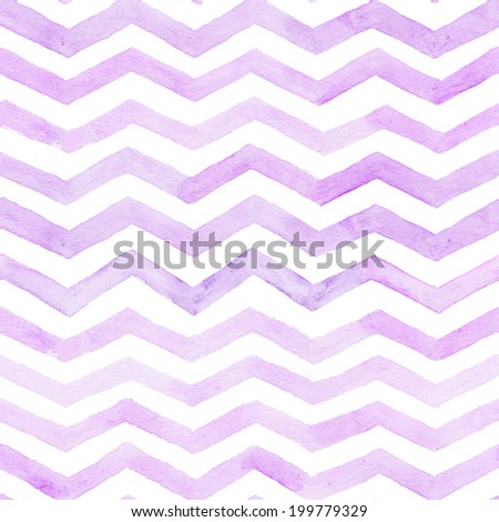 zigzag stripes watercolor seamless background