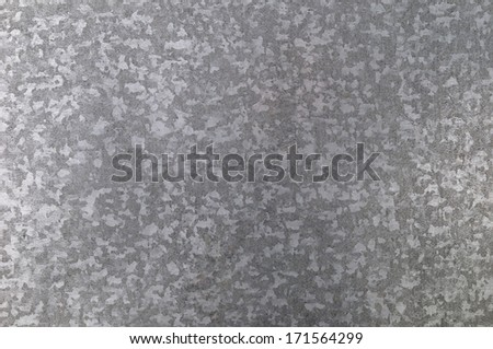 zinc galvanized metal texture and background - stock photo