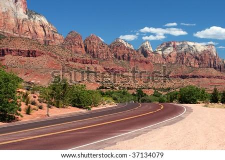 Zion National Park, USA - stock photo