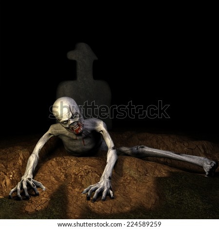 stock-photo-zombie-rising-from-the-grave