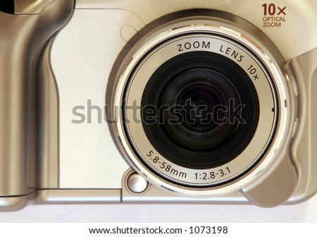 Zoom Lens, 10x, silver