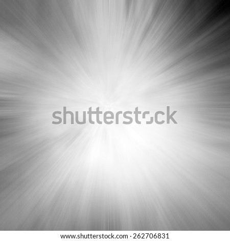 zoomed black and white background with starburst line design effect - stock photo
