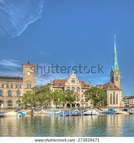 Zurich City Hall Post And Zurich City Hall