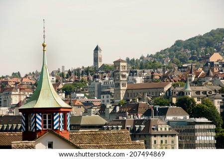 Zurich - Switzerland - stock photo