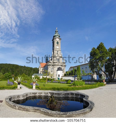 Zwettl Abbey (Stift Zwettl) is a Cistercian monastery located in Zwettl in Lower Austria, in the Diocese of St. Polten. Waldviertel, Austria