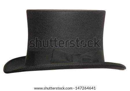 Zylinder Hut aus Filz - stock photo