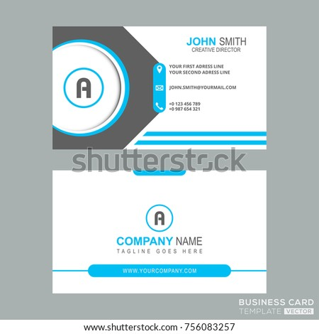 Letter templare design business card simple stock vector hd royalty letter templare design business card simple stock vector hd royalty free 756083257 shutterstock thecheapjerseys Gallery