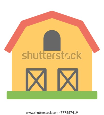 A Small Single Story House Or Shelter