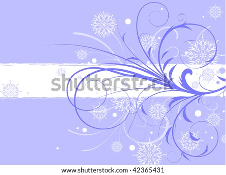 Abstract Christmas background. Vector Illustration.