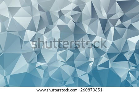 abstract geometric rumpled triangular low poly style vector illustration graphic background - stock vector