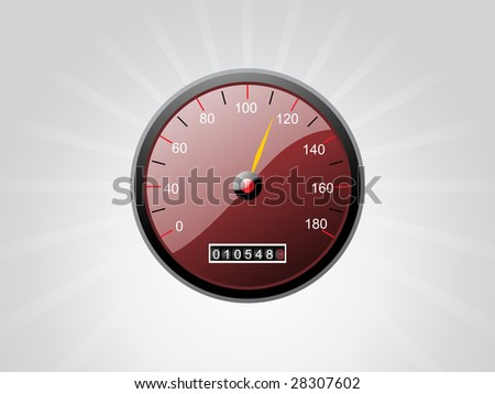 abstract grey watch with rays background