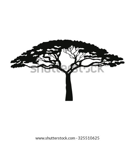Baobab Tree Coloring Page Coloring Pages