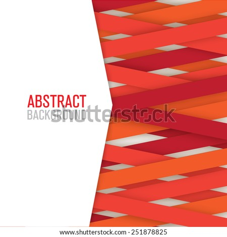 Applique paper background. Vector illustration for your design - stock vector