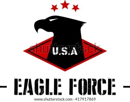 Army Logo Template - stock vector