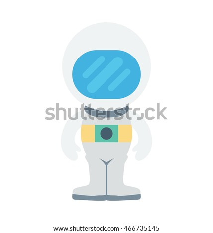 Astronaut Vector Icon