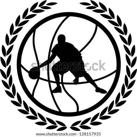 Vector Design Elements Basketball Vector Design