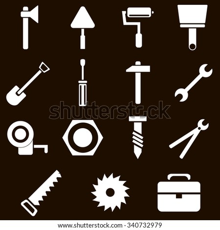 15 Building and tools icons