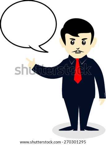 businessman characters for success