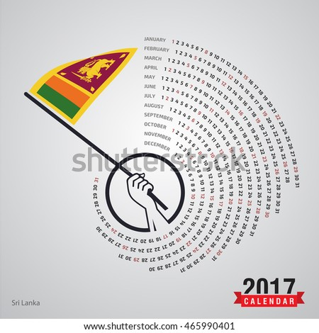 Calendar October 2017 Sri Lanka
