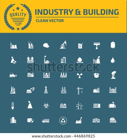 ,Construction icon,Industry icon set,vector