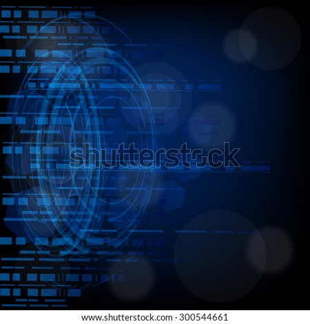 creative abstract technology Background vector
