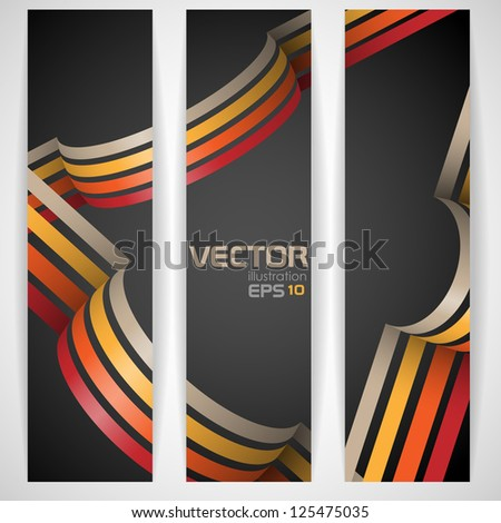 3d abstract background. Vector illustration. Eps 10. - stock vector