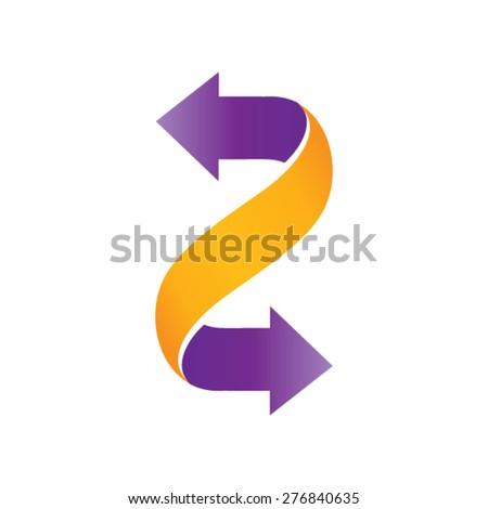 3d Arrows design - stock vector
