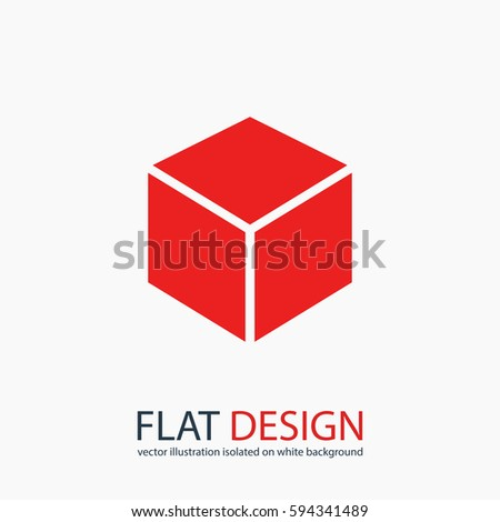 Cube logo stock images royalty free images vectors for 3d flat design online