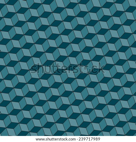 3d cubes background. Vector. 8 - stock vector