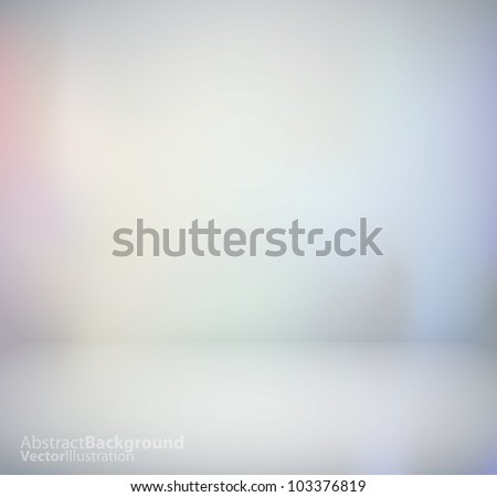 3d isolated Empty Background for exhibit. Vector illustration. - stock vector
