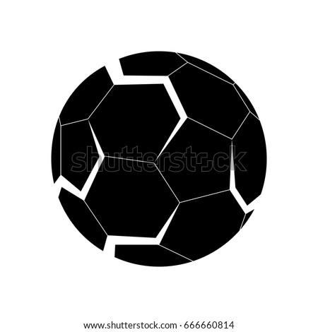 3 d logo football soccer ball white stock vector royalty free