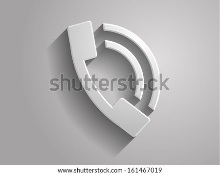 3d Vector illustration of a  icon - stock vector