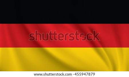 3D Waving Flag of Germany