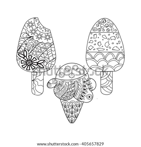Vanilla Page Coloring Pages