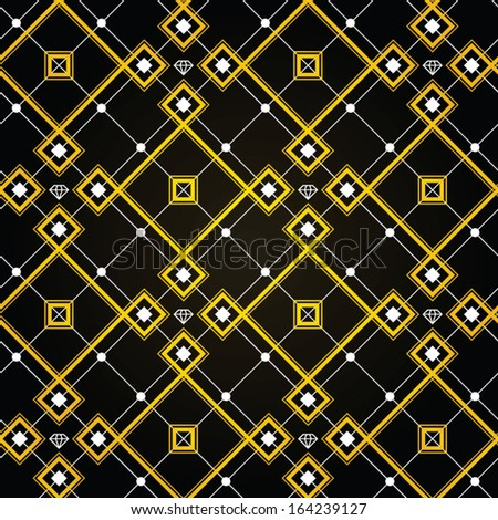 Diamond Gold Wallpaper Gatsby Style Feel The Old New York Interior With This Unique Seamless