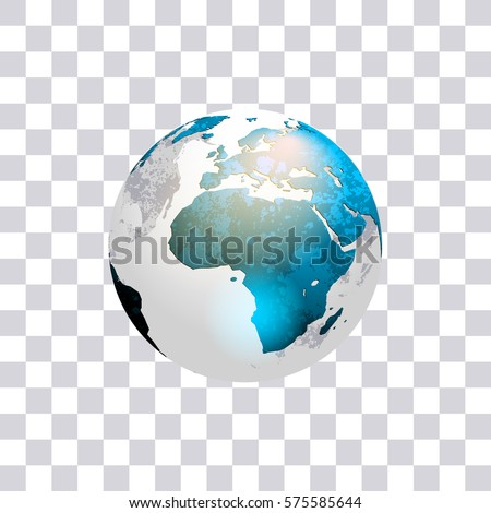 Earth globe isolated on transparent background stock vector globe isolated on transparent background world map vector illustration gumiabroncs Images