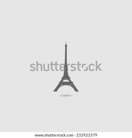Eiffel Tower  - stock vector